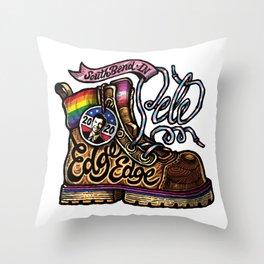 LGBTQ Pride-Themed | Pete Buttigieg | Boot Edge Edge Throw Pillow