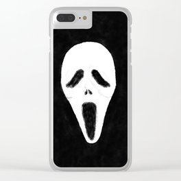 GHOSTFACE - Watercolor Clear iPhone Case