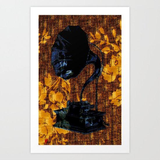 Dueling Phonographs IV Art Print