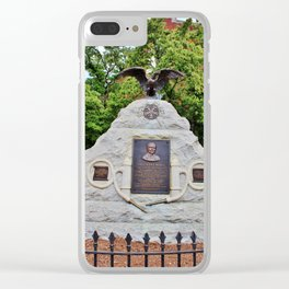 First Fire Chief Memorial Clear iPhone Case