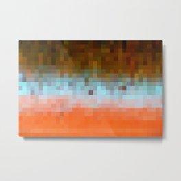 Nature Pixels No1 Metal Print