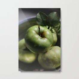 Apples Orchard Ripe Metal Print