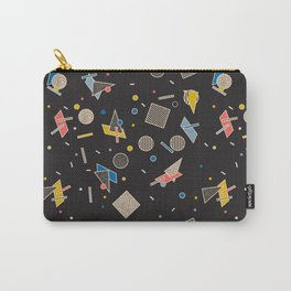 Memphis Inspired Pattern 10 Carry-All Pouch