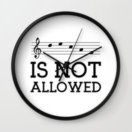 Decaf is not allowed Wall Clock