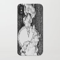 8 bit iPhone & iPod Cases featuring 8 Bit Sky by Corinne Elyse
