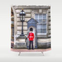 Buckingham Palace Queens Guard Shower Curtain