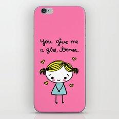 Girl Boner iPhone & iPod Skin