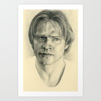 sam winchester Art Prints featuring Sam Winchester by Jacob Tyler