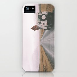 Road trip to nowhere iPhone Case