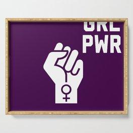 GRL PWR Fist Serving Tray