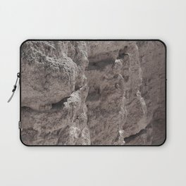 Erosion On The Cliff Laptop Sleeve