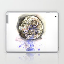 Star War Art Painting The Death Star Laptop & iPad Skin