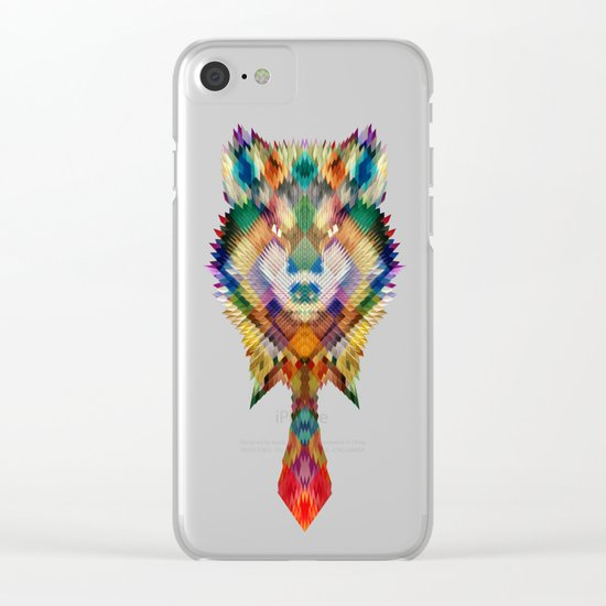 Corporate Wolf Clear iPhone Case