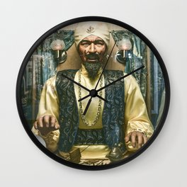 Zoltar the fortune teller London England UK Wall Clock