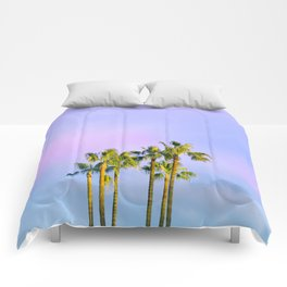Summer Dreams with Palms Comforters