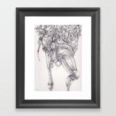 Qalbu Framed Art Print