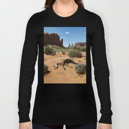 Monument Valley Horse Carcass Long Sleeve T-shirt