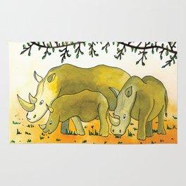 Noah's Ark - Rhino Rug