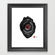 Power Off Framed Art Print