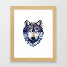 Wolf. Framed Art Print