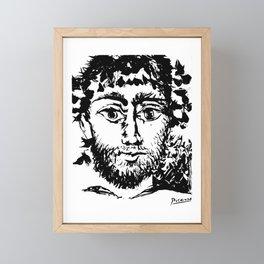 Pablo Picasso Le Faune (The Faun), 1958 Artwork Framed Mini Art Print