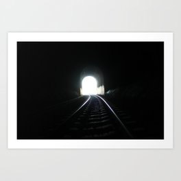 End In Sight Art Print