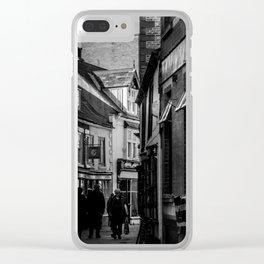 Grape Lane Clear iPhone Case