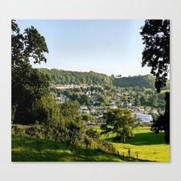 Lyme Regis Landscape Canvas Print