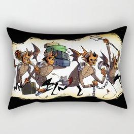 Hell's Bellhops Rectangular Pillow