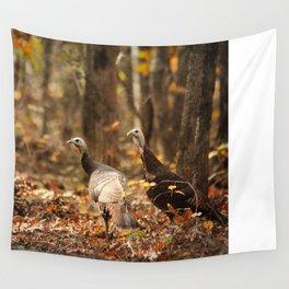 Wild Turkey Wall Tapestry