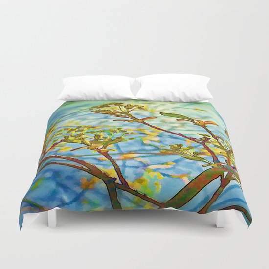 Budding Branches Duvet Cover