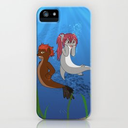 Free Pony Kou & Seijuro iPhone Case