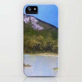 Mountain Lake I iPhone Case