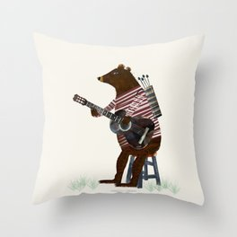 guitar song Throw Pillow