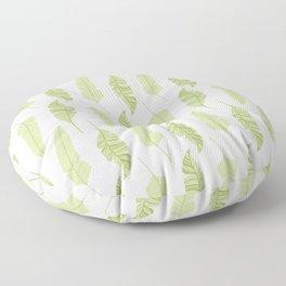 Plantain leaves  Floor Pillow