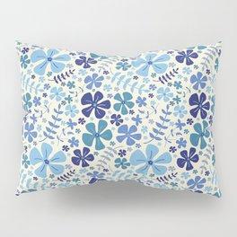 My Little Garden blue & green Pillow Sham
