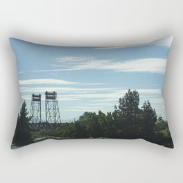 Twin Bridges Rectangular Pillow