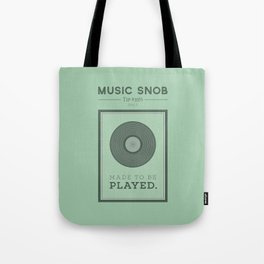 Made to be Played — Music Snob Tip #33⅓ A Tote Bag