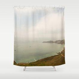Coastal Drive Shower Curtain