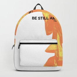 be still amidst all the noise Backpack
