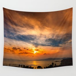 A Sunrise Glow Wall Tapestry