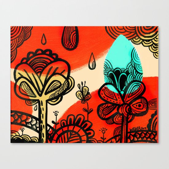 Spring Has Sprung! Canvas Print
