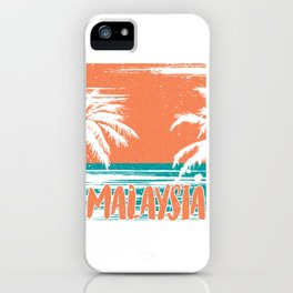 Malaysia Beauty View iPhone Case