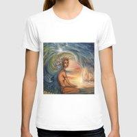 siren T-shirts featuring Siren by Erica Wexler