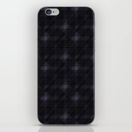 checked it iPhone Skin