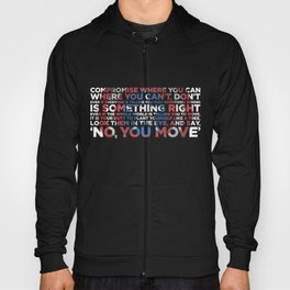 Civil War Quote Hoody