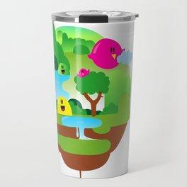 Plant Illustration Travel Mug