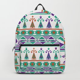 Turkish Dolls Ethnic Pattern Backpack