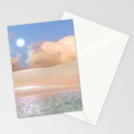 Dream oasis Stationery Cards