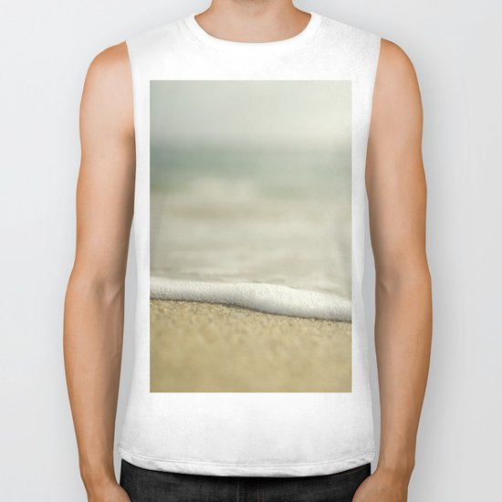 Beach Close Up Biker Tank